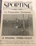1922 LA PRÉPARATION OLYMPIQUE - RUGBY - BOXE LE BLANC ET LE NOIR - SIX JOURS DE NEW YORK - HOCKEY SUR GLACE - SPORTING - Newspapers