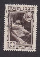 USSR, Scott #481, Used, Grave, Highgate Cemetery, London, Issued 1933 - 1923-1991 USSR