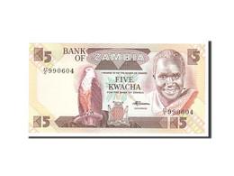 Zambia, 5 Kwacha, 1980, KM:25d, Undated, NEUF - Zambia