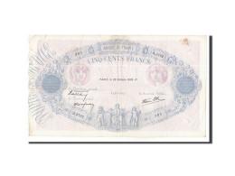 France, 500 Francs, 1939, KM:88c, 1939-10-26, TTB, Fayette:31.45 - 1871-1952 Anciens Francs Circulés Au XXème