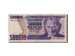 Turquie, 500,000 Lira, L.1970 (1998), KM:212, Non Daté, TB - Turkey