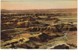 The Painted Desert, Near Adamana, Arizona - United States