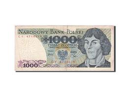 Pologne, 1000 Zlotych, 1974-1976, KM:146b, 1979-06-01, TTB - Pologne