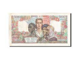 France, 5000 Francs, 5 000 F 1942-1947 ''Empire Français'', 1947, KM:103e, 1... - 1871-1952 Anciens Francs Circulés Au XXème
