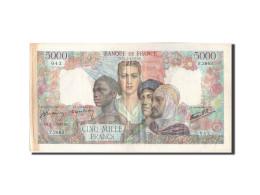 France, 5000 Francs, 5 000 F 1942-1947 ''Empire Français'', 1947, KM:103c, 1... - 1871-1952 Anciens Francs Circulés Au XXème