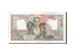 France, 5000 Francs, 5 000 F 1942-1947 ''Empire Français'', 1947, KM:103e, 1... - 1871-1952 Circulated During XXth