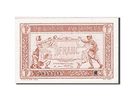 France, 1 Franc, 1917, KM:M2, 1917, SUP, Fayette:VF 3.13 - 1917-1919 Army Treasury