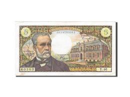 France, 5 Francs, 1966, KM:146a, 1966-11-04, TTB+, Fayette:61.4 - 5 F 1966-1970 ''Pasteur''