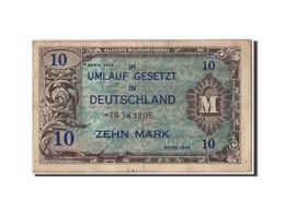 Allemagne, 10 Mark, 1944, KM:194d, Non Daté, TB - [ 5] Ocupación De Los Aliados