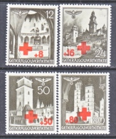 Germany Occupation Poland NB 1-4   *   RED  CROSS - Occupation 1938-45