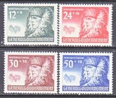 Germany Occupation Poland NB 8-11    ** - Occupation 1938-45