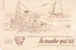 3 Buvards LA VACHE QUI RIT  Série LES METIERS N° 7-8-9  (Hervé Baille ) Port Gratuit - Food
