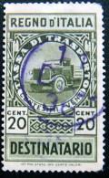 ITALY 1949 1L Diritti Segrataria Milan Administrative Fee Stamp USED - 5. 1944-46 Lieutenance & Umberto II