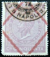 ITALY 1866 50c Emmanuel II Revenue USED - Steuermarken