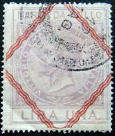 ITALY 1866 1L Emmanuel II Revenue USED - Steuermarken