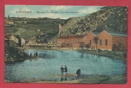 Cornesse - Massau - La Vesdre - Carrière Jaminon - Carte Couleur ( Voir Verso ) - Pepinster