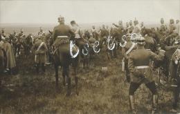 Elesenborn - Camp - Soldats Cavaliers Allemands - Carte Photo - 3 ( Voir Verso ) - Elsenborn (camp)