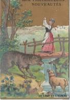 Magasin/Nouveautés / Aux Travailleurs/ Le Loup é L'agneau/Bd Voltaire /Paris /F.Marik & Bingers/ Vers 1885   IMA41 - Andere