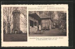 AK Grossalmerode, Gasthaus Und Aussichts-Turm Auf Dem Bilstein - Deutschland