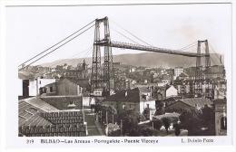BILBAO  LAS ARENAS  PORTUGALETE  PUENTE VIZCAYA   MBC TBE - Vizcaya (Bilbao)