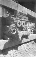 Mexique - Teotihuacan - Detalle Del Templo De Qutzacaltl - Mexique