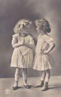 CHILDREN -TWO SMALL GIRLS CHATTING - Altri