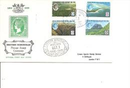Honduras Britannique ( FDC De 1966 à Voir) - British Honduras (...-1970)