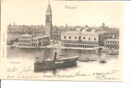 VENISE  PANORAMA Bateau   Ed; Modiano - Italy
