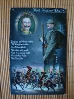 1. Weltkrieg, Heil Kaiser Dir ! Jünglinge Und Greise Ziehen...., Ungelaufen ! - Guerre 1914-18