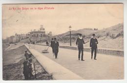 Oostende, Ostende, Le Roi Des Belges Sur La Digue D'Ostende (pk28009) - Oostende