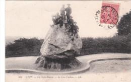 Carte Postale Ancienne De Lyon - La Croix Rousse - Le Gros Caillou - Lyon