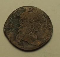1791 - Belgique - Belgium - Pays Bas Autrichiens - 2 LIARDS, Léopold II D'Autriche, KM 52 - Belgique