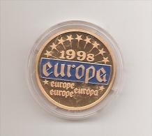 Medalla - Token - Jeton - Europa 1998 - Fichas Y Medallas
