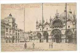 CPA ITALIE VENEZIA VENIZE BASILICA - Venezia