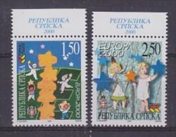 Europa Cept 2000 Bosnia/Herzegovina Serbia 2v  (+margin) ** Mnh (26486) - Europa-CEPT