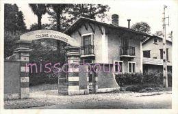 64 -  JURANCON - CPSM - Colonie de Vacances Le Sarrot  - Caisse Allocations Familiales - 1954 - 2 scans