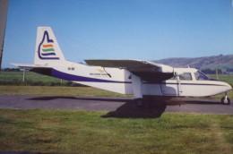 MILFORD SOUND SCENIC FLIGHT  BN 2 ISLANDER   VH OBL   DUNEDIN AIRPORT - 1946-....: Moderne