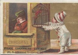 Chromo / Magasin /Cordonnerie Centrale / Chaussures//Bd Voltaire//Paris /Bouillon -Rivoyre/ Vers 1880   IMA57 - Other