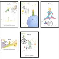 5036/ Carte Maximum France N°3175/3179 Antoine De Saint-Exupéry «Le Petit Prince» - Maximum Cards