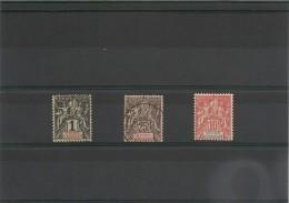 Saint Pierre Et Miquelon Années 1892-1900/08 N°Y/T: 55*-66 Oblitéré-73** Sans Gomme - St.Pierre & Miquelon