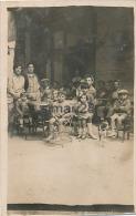 POUZOLS - CARTE PHOTO - CAFE DU COMERCE (l'adresse Est Une Autre Cp)