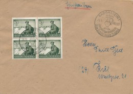 BAD GASTEIN - 1944 , Tag Der Wehrmacht - Big Letter , Dispatch = 4,20 EURO - Used Stamps