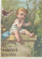 Chromo / Magasin Nouveautés/A La Place Du Havre/Place Du Havre/Paris /Romanet Vers 1880   IMA67 - Other