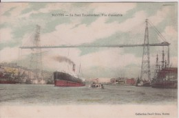44 LOIRE ATLANTIQUE NANTES  Le Pont Transbordeur Colorisé - Nantes