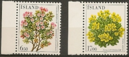 Iceland  Flowers. Lot MNH Stamps. - Collections, Lots & Séries