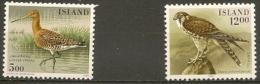Iceland . Birds. Lot MNH Stamps. - Islande