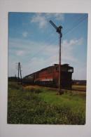 CSD Locomotive  - Old Postcard 1970s - Train - Treni