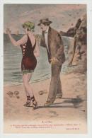 *a* - A La Mer - Carte Illustrée, Signée R.G. - édit. P. B. V. N°5002 - Postcards