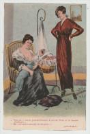 *a* -Vois-tu !... Il A Les Yeux De Gustave, Le Nez De Paul .... - Carte Illustrée, Signée R.G. - édit. P. B. V. N°4118 - Postcards