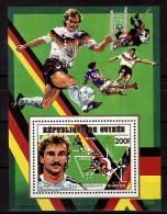 GUINEE     BF De Luxe  ( 911 ) * *   Cup 1990    Soccer  Fussball  Football - Fußball-Weltmeisterschaft